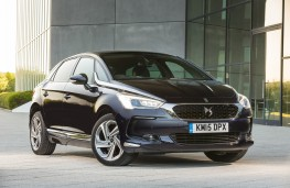 DS 5, blue, front, static