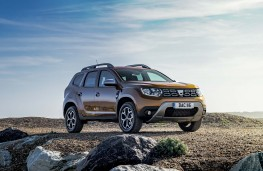 Dacia Duster 2018 front static