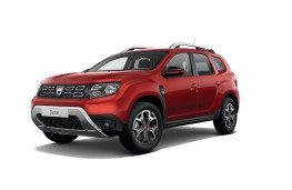 Dacia Duster Techroad front