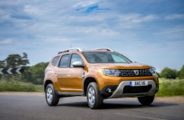 Dacia Duster, front action 2