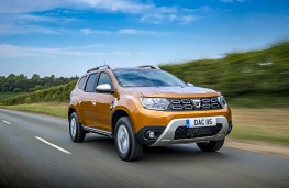 Dacia Duster, front action