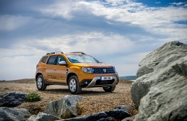 Dacia Duster, front static