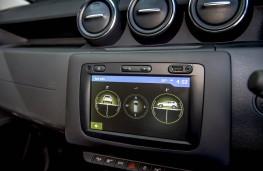 Dacia Duster, dash detail 2