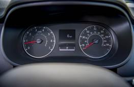 Dacia Duster, dash detail