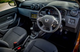 Dacia Duster, dashboard
