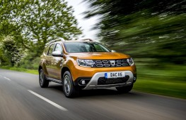 Dacia Duster 2018 front action