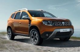 Dacia Duster 2018 front