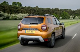 Dacia Duster 2018 rear action
