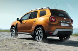 Dacia Duster 2018 rear