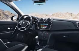 Dacia Logan MCV Stepway cockpit