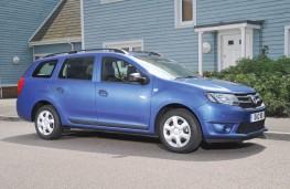 Dacia Logan MCV side static