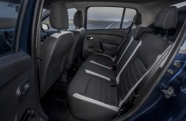 Dacia Sandero Stepway, rear seats