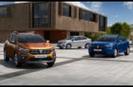 Dacia Logan MCV, Sandero Stepway and Sandero
