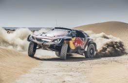 Peugeot 3008DKR Maxi, Dakar, 2018, desert driving