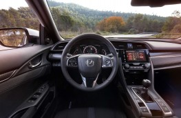 Honda Civic, 2017, dashboard