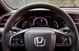 Honda Civic, 2017, instrument panel