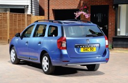Dacia Logan MCV rear static