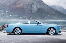 Rolls-Royce Dawn, side, static