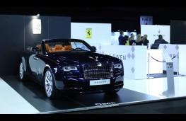 London Motor Show, 2016, Rolls-Royce Dawn