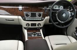Rolls-Royce Dawn, 2017, dashboard