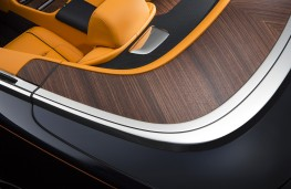 Rolls-Royce Dawn, wooden trim