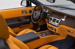 Rolls-Royce Dawn, interior