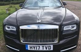 Rolls-Royce Dawn, 2017, front