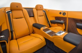 Rolls-Royce Dawn, rear seats