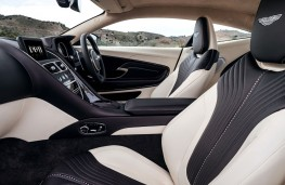 Aston Martin DB11, 2017, seats