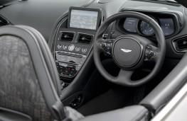 Aston Martin DB11 Volante, 2018, interior