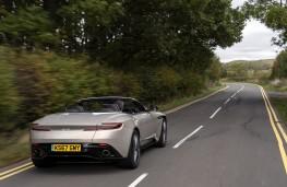 Aston Martin DB11 Volante, 2018, rear, action