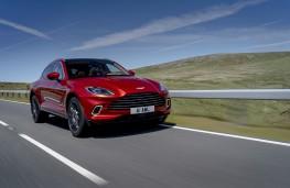 Aston Martin DBX, 2020, front, action