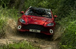 Aston Martin DBX, 2020, off road, front