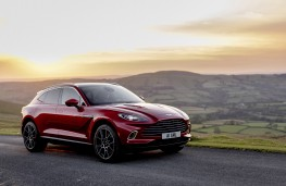 Aston Martin DBX, 2020, front, static