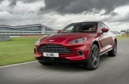 Aston Martin DBX, 2020, front