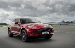 Aston Martin DBX, 2020, front, track
