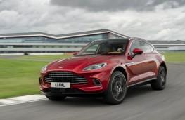 Aston Martin DBX, 2020, action