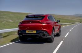 Aston Martin DBX, 2020, rear, action