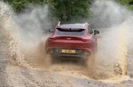 Aston Martin DBX, 2020, off road, rear