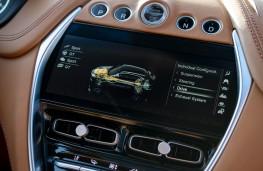 Aston Martin DBX, 2020, display screen