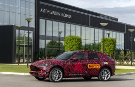 Aston Martin DBX, 2020, side, St Athan production