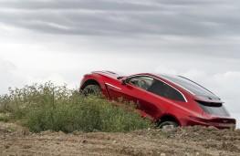 Aston Martin DBX, 2020, off road, side