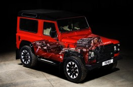 Land Rover Defender Works V8 70th Anniversary, 2018, cutaway
