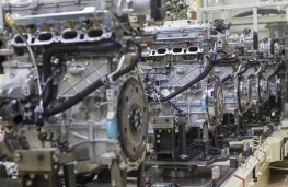 Toyota engine plant, Deeside, production