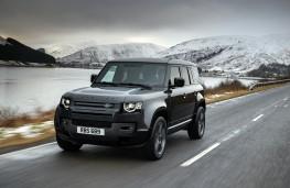Land Rover Defender 110 V8, 2021, front, action