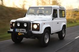 Land Rover Defender 90, front