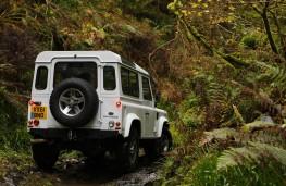 Land Rover Defender 90, rear