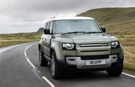 Land Rover Defender, 2021, fuel cell trial