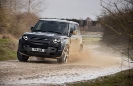 Land Rover Defender 90 V8, 2021, action, off road
