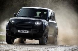 Land Rover Defender 90 V8, 2021, action